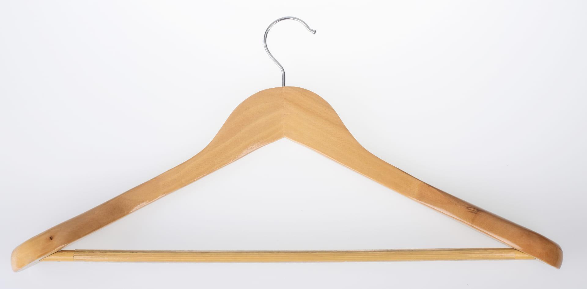 Wieszak na garnitur